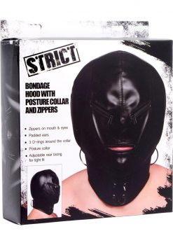 Strict Hood Mask Zipper