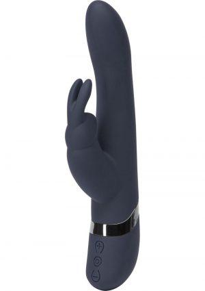 Fifty Shades Darker Oh My Silicone Rabbit Vibrator Waterproof Black