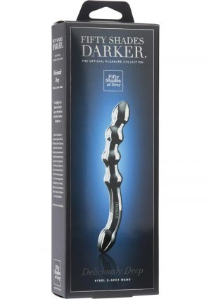 Fifty Shades Darker Deliciously Deep Steel G-Spot Wand