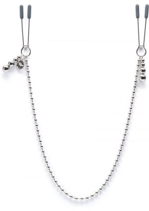 Fifty Shades Darker At My Mercy Metal Chained Nipple Clamps