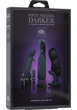Fifty Shades Darker Dark Desire Advanced Couples Kit Black