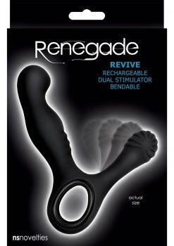 Renegade Revive Prostate Massager Black