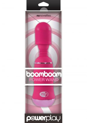 Power Play Boomboom Power Wand Pink