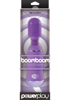 Power Play Boomboom Power Wand Purple