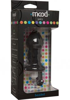Mood Juicy Beaded G-Spot Stim Black