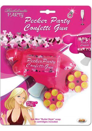 Bachelorette Party Pecker Party Confetti Gun Multi Colored