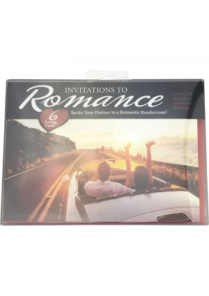 Invitations To Romance Loving Cards For Couples 6 Each Per Set