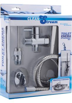 Clean Stream Toilet Enema Attach Set