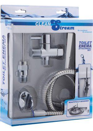 Clean Stream Toilet Enema Attach Set