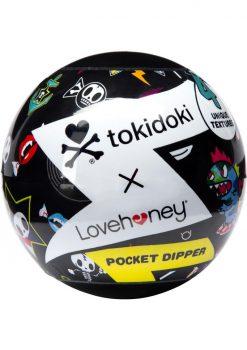 Tokidoki Pocket Dipper Pleasure Cup Bones Texture Clear