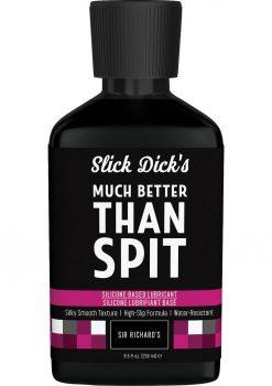 Slick Dicks Silicone Lubricant 8.5fl Oz