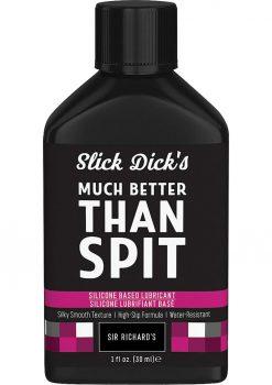 Slick Dicks Silicone Lubricant 1fl Oz