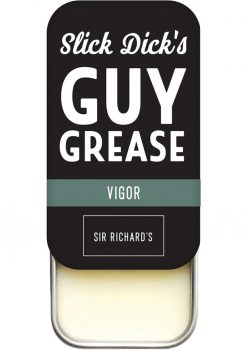 Slick Dick's Guy Grease Solid Cologne Sporty Scent Vigor .5 Ounce Tin