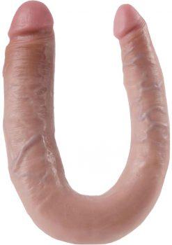 Skinsations Vibra Flex Double Dipper Rechargeable Flesh 13.6 Inch