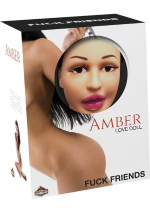 Fuck Friends Amber Inflatable Love Doll With Vibrating Vagina Waterproof Flesh