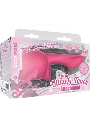 Bodywand Silicone Ultra G-Touch Attachment Pink Large