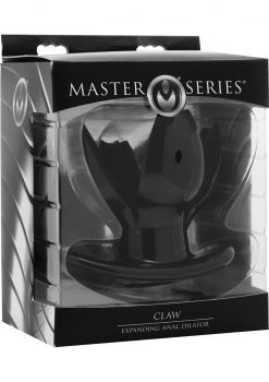 Master Series Claw Expanding Anal Dilator Black