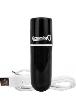 Charged Vooom Rechargeable Bullet Vibe Waterproof Black