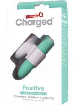 Charged Positive Rechargeable Vibe Waterproof Kiwi