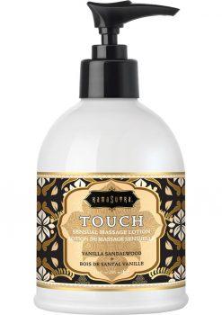 Touch Sesual Massage Lotion Vanilla Sandalwood 10 Ounce