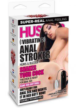 Hustler Vibrating Anal Stroker