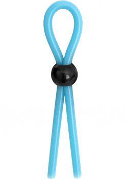 Rascal The Brawn Single Leash Glow Silicone Blue