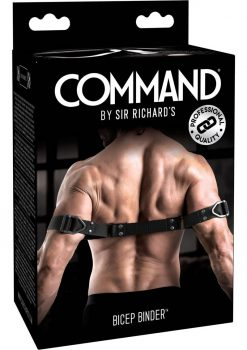 Sir Richard's Command Bicep Bender Black And Stainless Steel