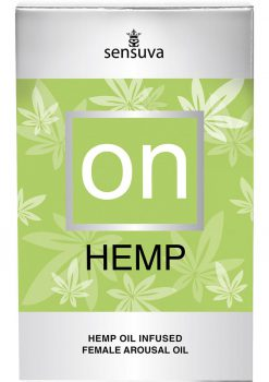 On Hemp Infused Female Arousal Oil 5 Milliliters