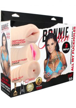 Bonnie Rotten All My Fuck Holes Deepthroat Pussy And Anal Set Flesh