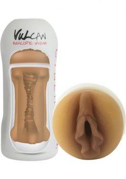 Cyberskin Vulcan Realistic Vagina Stroker Mocha