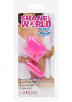 Shane's World Finger Tingler Silicone Mini Massager Waterproof Pink