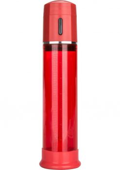 Advanced Fireman's Pump Fully Automated One-Hand Control Penis Pump Red