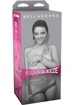 Main Squeeze Belladonna UltraSkyn Stroker Black/Flesh
