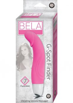 Bela G-Spot Finder 7X Vibrating Silicone Massager Waterproof Pink