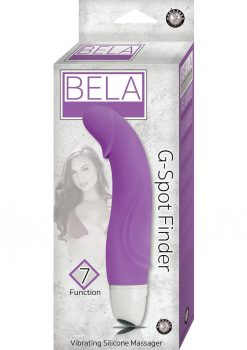 Bela G-Spot Finder 7X Vibrating Silicone Massager Waterproof Lavender