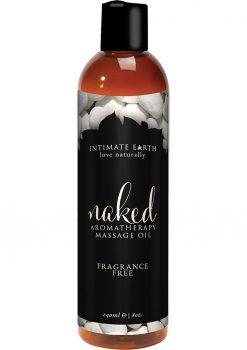 Naked Massage Oil 8 Oz
