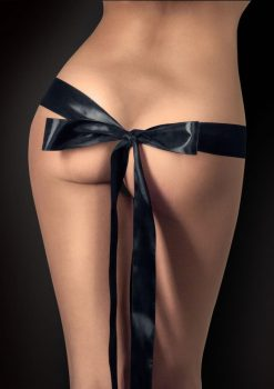 Ouch! Silky Ribbon Black