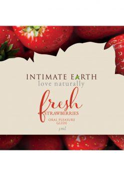 Fresh Strawberry Flavored Glide 3ml Foil