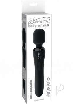 Wanachi Silicone Body Recharger Black