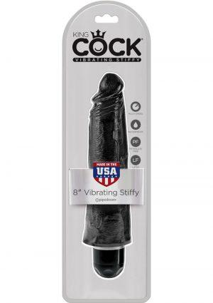 King Cock Vibrating Stiffy Black