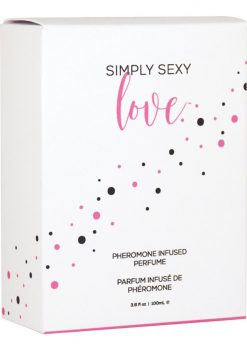 Simply Sexy Love Pheromone Infused Perfume 3.37 Ounce