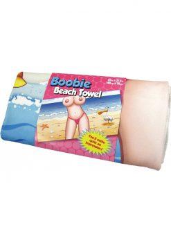 Boobie Beach Towel 55 Inch X 27.5 Inch