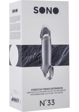 Sono No. 33 Stretchy Penis Extension Clear