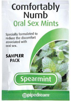 Comfortably Numb Mints Spearmint Sampler