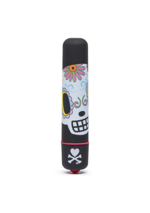 Tokidoki 'Dia de los Muertos' Flower Skull Mini Bullet - Black