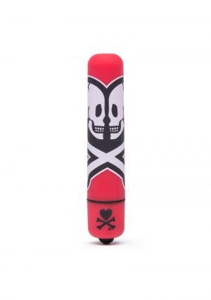 Tokidoki 'Death Do Us' Cross Bones Mini Bullet - Red