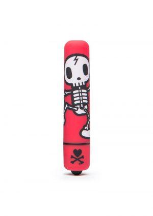 Tokidoki 'Jolly Roger' Dancing Skull Mini Bullet - Red