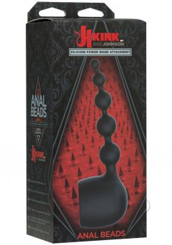 Kink Anal Beads Wand Attachment Black