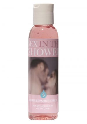 Sex In The Shower Kissable Passion Bubbles 4 Ounce