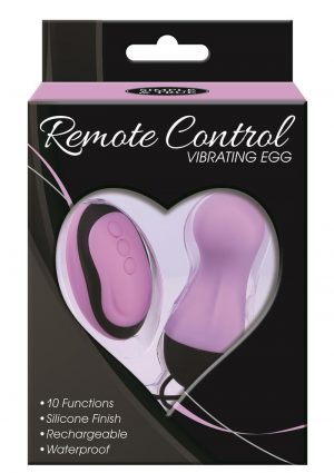 Simple And True Remote Vibe Egg - Purple